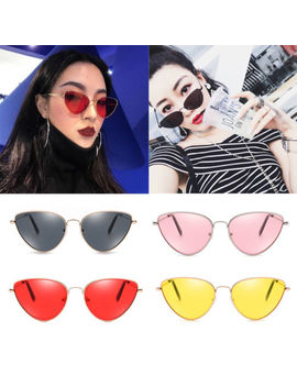 Sunglasses Fashion Men's Ladies Designer Quality Uv400 Lens Unisex Cat Eye by Unbranded
