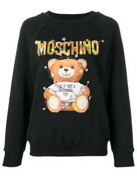 Toy Logo Sweatshirt by Moschino