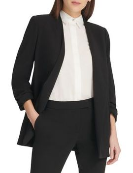Classic Open Front Blazer by Dkny