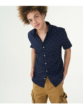 Sailboat Woven Shirt by Aeropostale