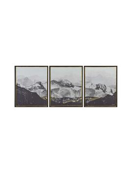 Manford Three Panel Wall Art by Renwil