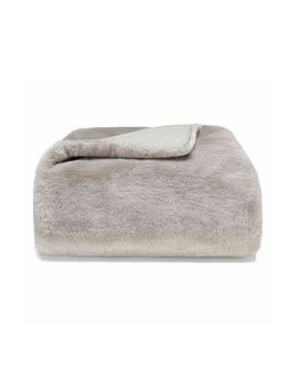 Faux Fur Throw by Vera Wang