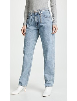 Baggy Oversized Jeans With Pleats by Agolde