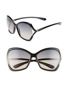 Astrid 61mm Geometric Sunglasses by Tom Ford