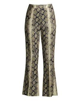 Python Cropped Flare Pants by We11 Done
