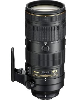 Af S Nikkor 70 200mm F/2.8 E Fl Ed Vr Telephoto Zoom Lens For Nikon Dslr Cameras   Black by Nikon