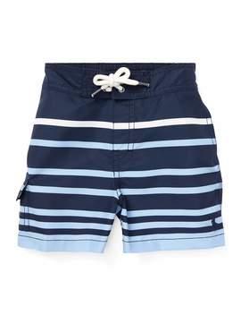 Kailua Striped Swim Trunks, Size 12 24 Months by Ralph Lauren Childrenswear