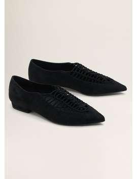 Sapato Entrançado by Mango