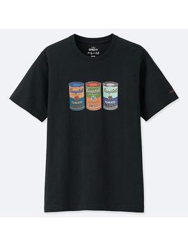 Men Sprz Ny Andy Warhol Graphic Print T Shirt by Uniqlo