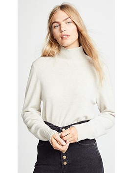 Vail Solid Cashmere Sweater by Le Kasha