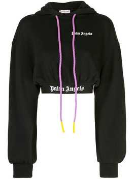Cropped Hoodie by Palm Angels