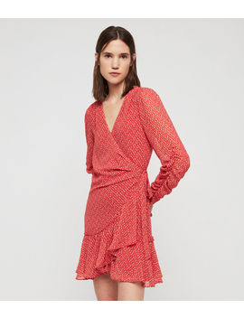 Flores Hearts Dress by Allsaints