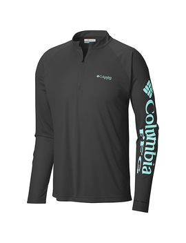 Men's Pfg Terminal Tackle™ 1/4 Zip Pullover by Columbia Sportswear