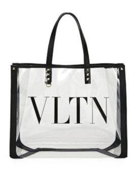 Vltn Grande Polymeric Tote Bag by Valentino Garavani