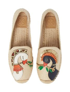Something Wild Espadrille Flat by Tory Burch
