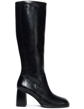 Moroder Glossed Leather Boots by Joseph