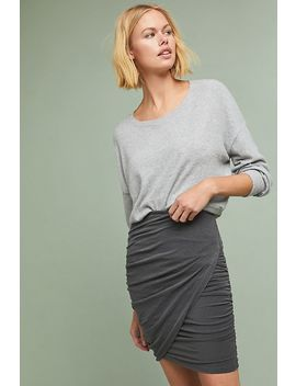 Sundry Crossover Skirt by Sundry
