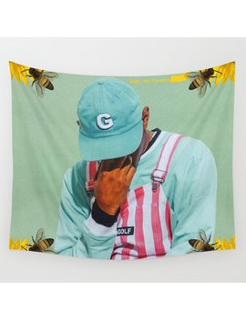 Tyler, The Creator   Flower Boy Wall Tapestry by