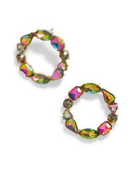 Chevon Hoop Earrings by Baublebar