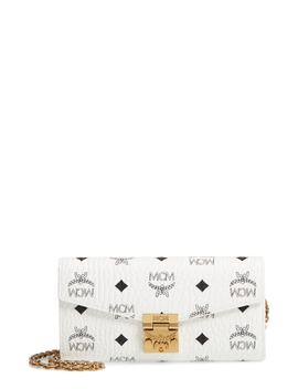 Patricia Visetos Canvas Wallet On A Chain by Mcm