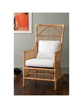 East At Main Tucker Rattan Occasional Chair by Hayneedle