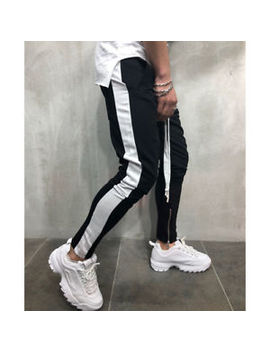 Men's Track Pants Casual Sports Jogging Bottoms Joggers Gym Sweats Trousers Us by Unbranded