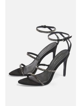 Samira Diamante Heels by Topshop