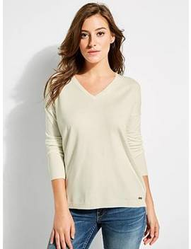 V Neck Sweater by Guess