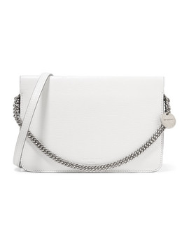 Cross3 Two Tone Textured Leather And Suede Shoulder Bag by Givenchy