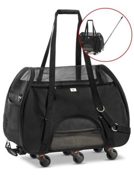 Used   Wps Airline Approved Removable Wheeled Pet Carrier Small Pets. by Wps