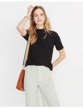 Texture & Thread Mockneck Tee by Madewell