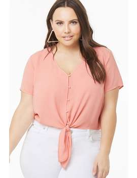 Plus Size V Neck Dolman Top by Forever 21