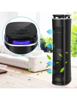 Air Purifier With True Hepa Filter, Air Purifier Odor Allergies Eliminator For Home, Smokers, Smoke, Dust, Mold And Pets, Air Cleaner With Night Light by Sancusto