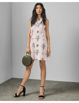 Flourish A Line Dress by Ted Baker