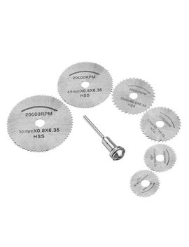 Tsv Circular Saw Disc Set Dremel Accessory Mini Drill Rotary Tool Wood Cutting Blade by Tsv