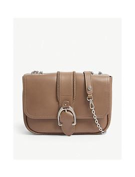 Amazone Leather Shoulder Bag by Longchamp