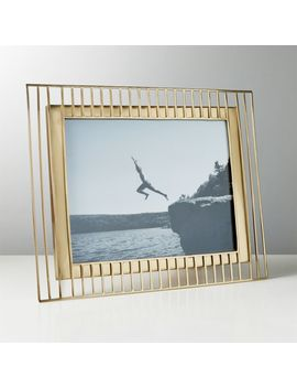 "Brass Trax Frame 8""X10"" by Crate&Barrel"
