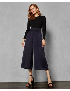 Knitted Colour Block Jumpsuit by Ted Baker