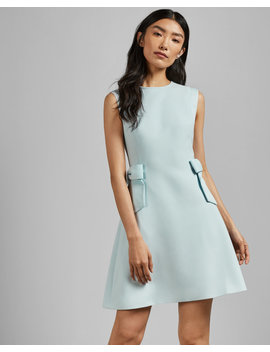 Side Bow Detail Shift Dress by Ted Baker