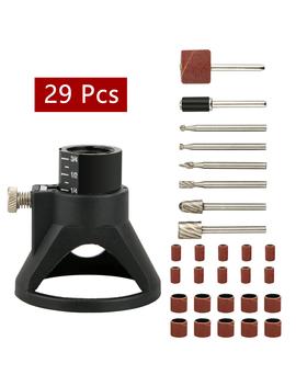 29 Pcs Dremel Rotary Tool Mini Drill Woodworking Drilling Bit Set Accessories by Tsv