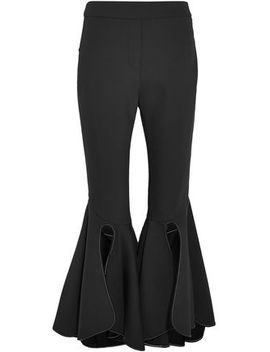 Ox Bow Crepe Flared Pants by Ellery