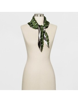 Women's Pleated Scarf   Who What Wear™ Green by Who What Wear