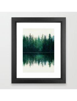 Reflection Framed Art Print by