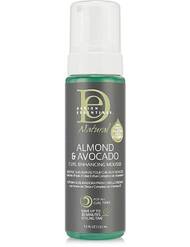 Natural Almond & Avocado Curl Enhancing Mousse by Design Essentials