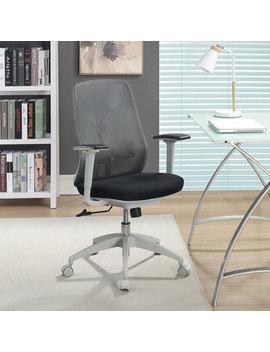 True Innovations Ergonomic High Back Mesh Task Chair   Grey by True Innovations