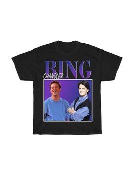 Chandler Bing T Shirt Friends Tv Show Merchandise Merch Friends T Shirt Unisex 90s Tshirt Matthew Perry T Shirt by Etsy
