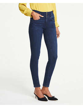 Petite High Rise Performance Stretch Skinny Jeans by Ann Taylor