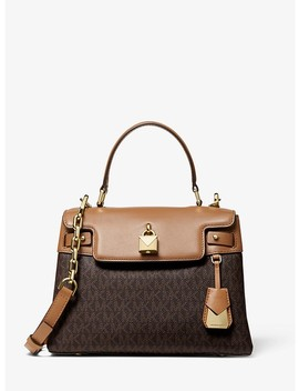 Gramercy Medium Logo Satchel by Michael Michael Kors