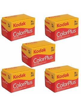 5 Rolls Of Kodak Colorplus 200 Asa 36 Exposure (Pack Of 5) by Kodak