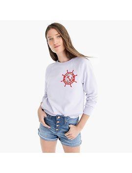 """""""Portami A Positano"""" Raglan Sweatshirt by J.Crew"""